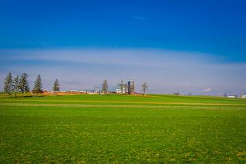 Amish country farm barn field agriculture located in Lancaster