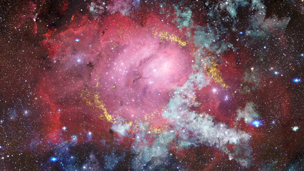 Deep space nebula stars and galaxies. Elements of this image furnished by NASA.