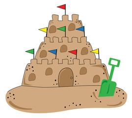 Beach Sand Castle