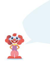 happy clown character