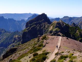 Traversée Pico do Arieiro à Pico Ruivo