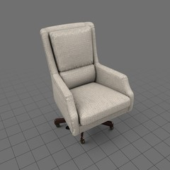 Transitional office chair