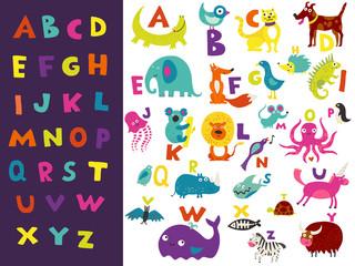 Children Alphabet Bright Set