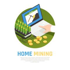 Home Mining Farm Background