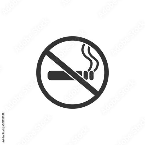 no smoking sign icon simple element illustration no smoking sign