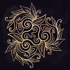 e0a579050 Henna temporary flash tattoo. Traditional ethnic indian style tribal  ornaments