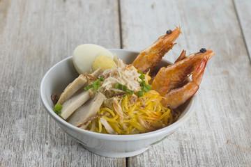 malaysia famous prawn noodle