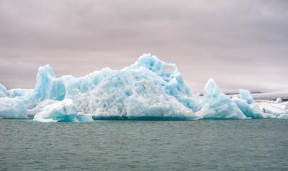 Printed kitchen splashbacks Glaciers Jokulsarlon, glacier lagoon, Iceland