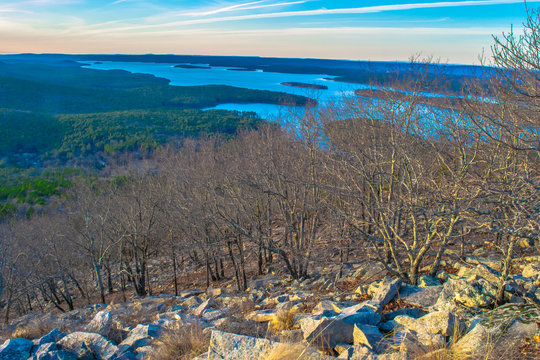 Arkansas Wilderness at Twilight