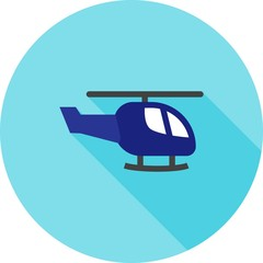Helicopter, vehicle icon