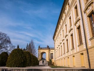 PRAGUE, CZECH REPUBLIC -Around Prague castle in Prague, Czech Republic