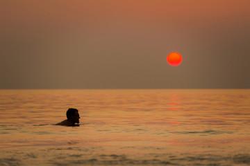 Tropical sunset on Koh Mook