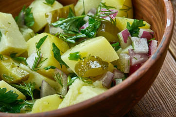 Bavarian Kartoffel Salat