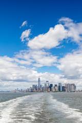 Manhattan skyline cityscape