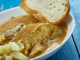 Caribbean Curry Fish