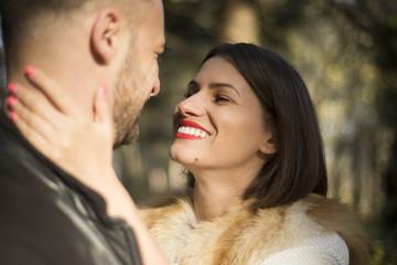 Happy inlove couple