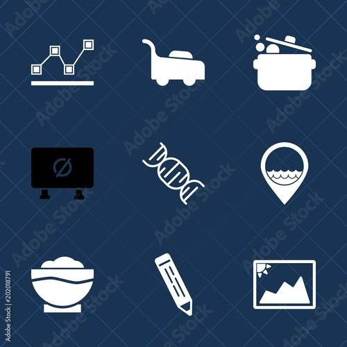 Premium set with fill icons such as diagram gardening dna garden premium set with fill icons such as diagram gardening dna garden ccuart Image collections