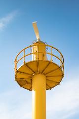Marine radar surveilling equipment