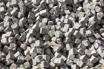 Abstract texture. Granite cobblestone texture.
