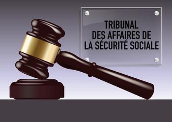 justice - tribunal - maillet - juge - jugement - judiciaire - juridique - assurance maladie - sécurité sociale