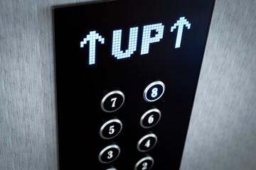 3d Aufzug up Aufwärts
