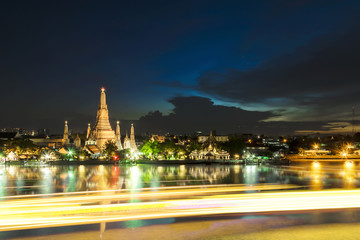 The famous Wat Arun