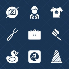 Premium set with fill icons. Such as kid, traffic, rubber, young, music, street, child, casual, hygiene, spoon, camera, note, brush, male, medical, background, toy, cute, man, dinner, sign, clothes