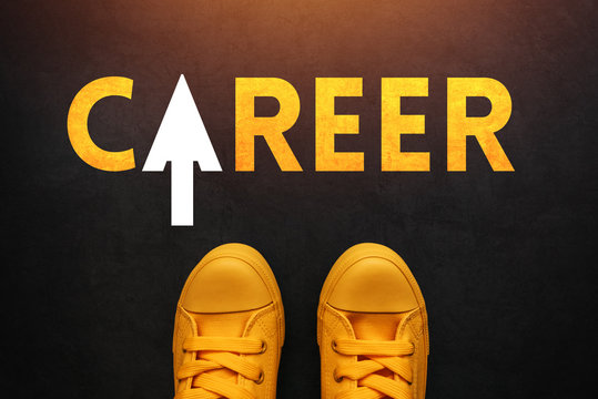 Career seeker looking for a job