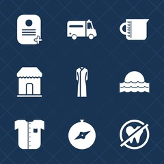 Premium set with fill icons. Such as equipment, sunrise, business, health, dentist, healthy, id, container, fashion, glass, shirt, clothing, liquid, new, north, water, transparent, female, beaker, map