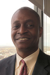 Raphael Bostic President of the Federal  Reserve Bank of Atlanta, poses for a photo in Knoxville