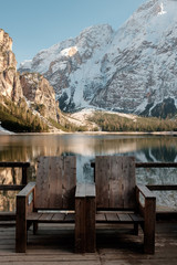 Rest in the north of Italy. Lake Braies