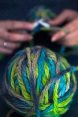 Ball of yarn.