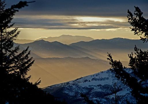 Ashland Sunset, Oregon