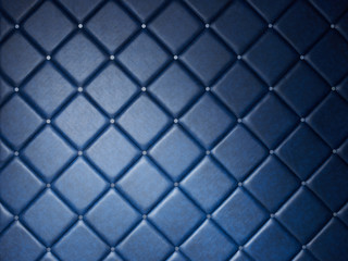 Blue tufted background