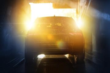 Summer Time Car Washing