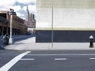 Midtown Manhattan corner
