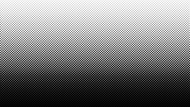 Gradient halftone dots background vector illustration. Black white dots halftone texture. Pop Art black white halftone pattern. Background of Art. AI10