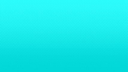 Halftone gradient pattern vector illustration. Blue dotted halftone texture. Pop Art light blue halftone Background. Background of Art. AI10