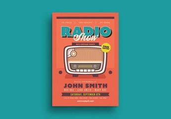 Retro Radio Flyer Layout
