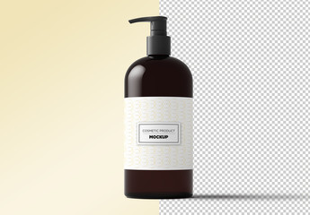 Cosmetic Dispenser Product Mockup