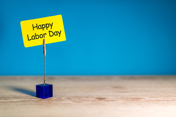 Happy Labor day image, 1st of May office background. With copy space for text, mockup or template