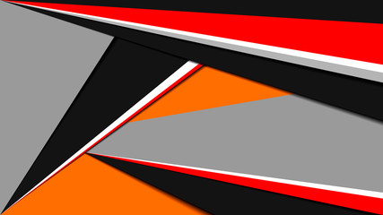 Geometric linear background made in material design style