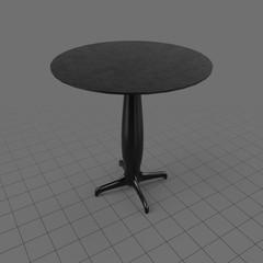 Round modern table