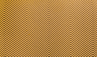 background texture-close up of brown and gold zig zag pattern