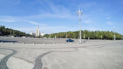Lomonosov Moscow State University building, Russia