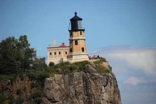 Split Rock Lighthouse along the shores of Lake Superior in Northern Minnesota