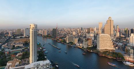 Fototapete - Bangkok panorama - Thaïlande