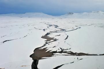 The plateau snow mountain