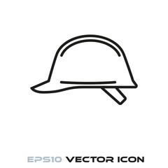 Hard hat line icon