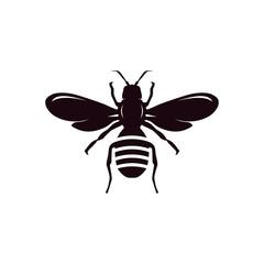 bee vector logo element